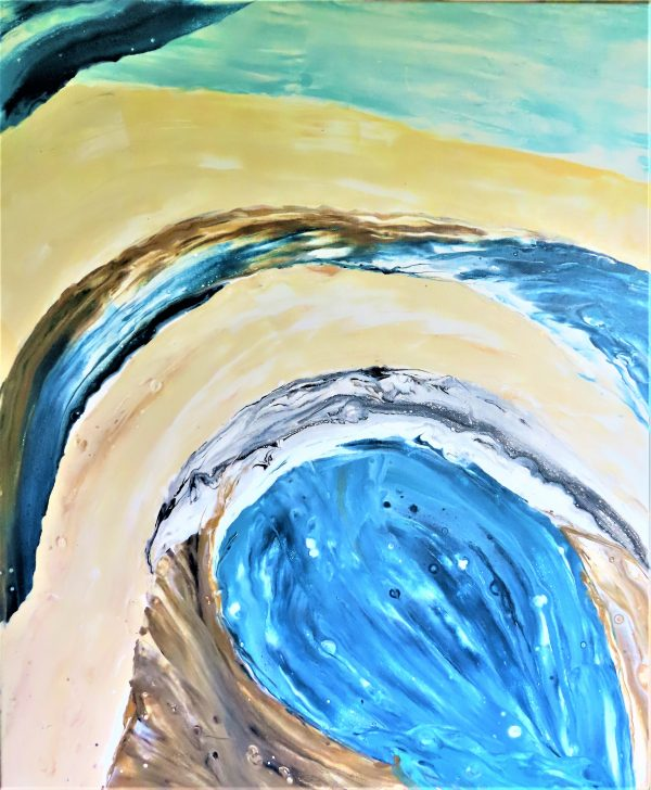 Sand and Water painting