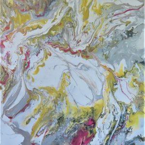 acrylic pour art