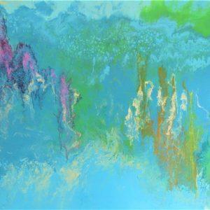 acrylic art painting